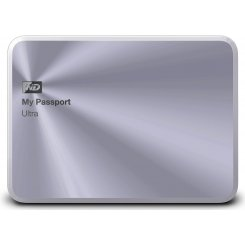 Western Digital My Passport Ultra 2TB WDBEZW0020BSL-EESN Silver