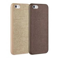 Чехол Ozaki O!coat 0.3 Canvas 2 in 1 для iPhone 5/5s/SE (OC590BK) Brown+Khaki