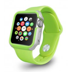 Ozaki O!coat Shockband для Apple Watch 42mm (OC660GN) Green