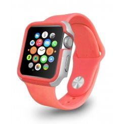 Ozaki O!coat Shockband для Apple Watch 42mm (OC660PK) Pink