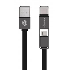 Nillkin Plus Lightning & Micro USB 1.2m Black
