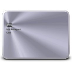 Western Digital My Passport Ultra 3TB WDBEZW0030BSL-EESN Silver