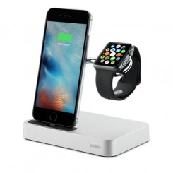 Belkin Valet Charge Dock for Apple Watch + iPhone (F8J183vfSLV)