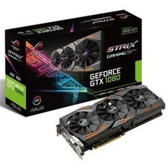 Asus ROG GeForce GTX 1080 STRIX OC 8192MB (STRIX-GTX1080-O8G-GAMING)