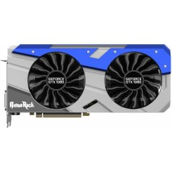 Palit GeForce GTX 1080 GameRock 8192MB (NEB1080T15P2-1040G)