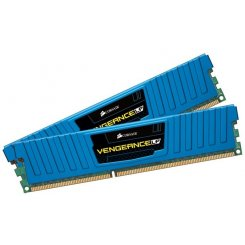 Corsair DDR3 16GB (2x8GB) 1600Mhz Vengeance Low Blue (CML16GX3M2A1600C10B)