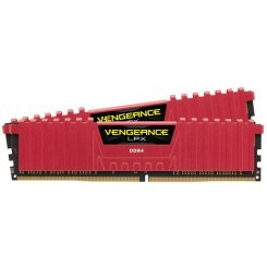 Corsair DDR4 8GB (2x4GB) 3000Mhz Vengeance LPX Red (CMK8GX4M2B3000C15R)