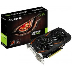Gigabyte GeForce GTX 1060 WindForce 2X OC 3072MB (GV-N1060WF2OC-3GD)