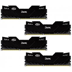 Team DDR4 32GB (4x8GB) 3000Mhz Dark Black (TDKED432G3000HC16AQC01)