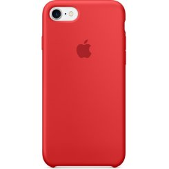 Чехол Apple iPhone 7 Silicone Case (MMWN2) Red