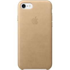 Чехол Apple iPhone 7 Leather Case (MMY72) Tan