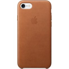 Чехол Apple iPhone 7 Leather Case (MMY22) Saddle Brown