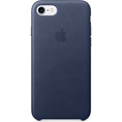 Чехол Apple iPhone 7 Leather Case (MMY32) Midnight Blue