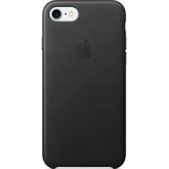 Чехол Apple iPhone 7 Leather Case (MMY52) Black