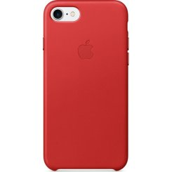Чехол Apple iPhone 7 Leather Case (MMY62) Red