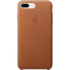 Чехол Apple iPhone 7 Plus Leather Case (MMYF2) Saddle Brown