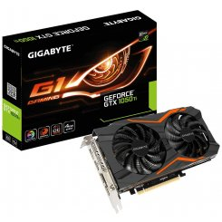 Gigabyte GeForce GTX 1050 Ti G1 Gaming 4096MB (GV-N105TG1 GAMING-4GD)