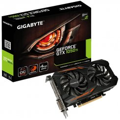 Gigabyte GeForce GTX 1050 Ti OC 4096MB (GV-N105TOC-4GD)