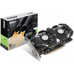 MSI GeForce GTX 1050 Dual Fan OC 2048MB (GTX 1050 2GT OC)