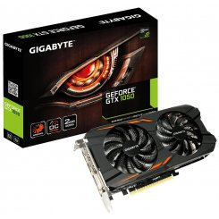 Gigabyte GeForce GTX 1050 WindForce 2X 2048MB (GV-N1050WF2OC-2GD)