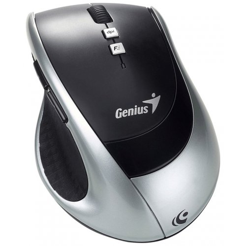 Мышка Genius Wireless DX-ECO Black/Silver