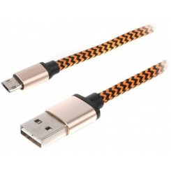 Viewcon USB 2.0 microUSB 1m Two-side (VC-USB2-D-001)