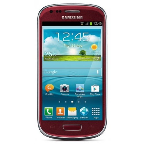 Смартфон Samsung Galaxy S III mini I8190 Garnet Red