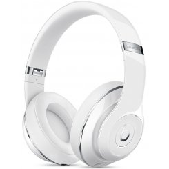 Beats Studio 2 Wireless Over-Ear Headphones MP1G2ZM/A Gloss White