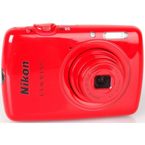 Цифровые фотоаппараты Nikon Coolpix S01 Red