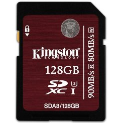 Kingston SDXC Ultimate 128GB Class10 UHS-I (SDA3/128GB)