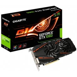 Gigabyte GeForce GTX 1060 G1 Gaming 6144MB (GV-N1060G1 GAMING-6GD R2.0)