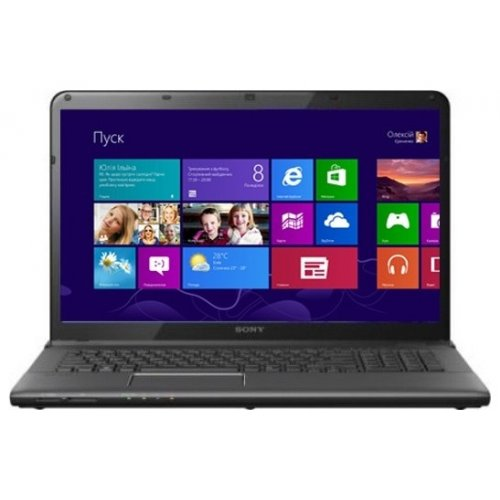 Ноутбук Sony VAIO E1512Q1RB Black