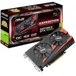 Asus GeForce GTX 1050 Ti Expedition OC 4096MB (EX-GTX1050TI-O4G)