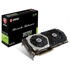 MSI GeForce GTX 1070 Quick Silver OC 8192MB (GTX 1070 QUICK SILVER 8G OC)