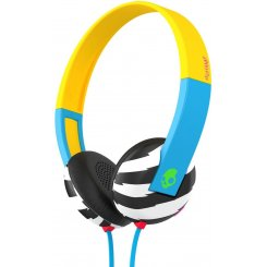Skullcandy UPROAR ON-EAR W/TAP TECH Only/Blue/Green