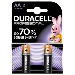 Duracell Professional AA (LR06) 2 шт. (81578678)