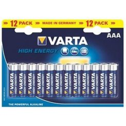 Varta AAA (LR03) High Energy 12шт (04903121482)
