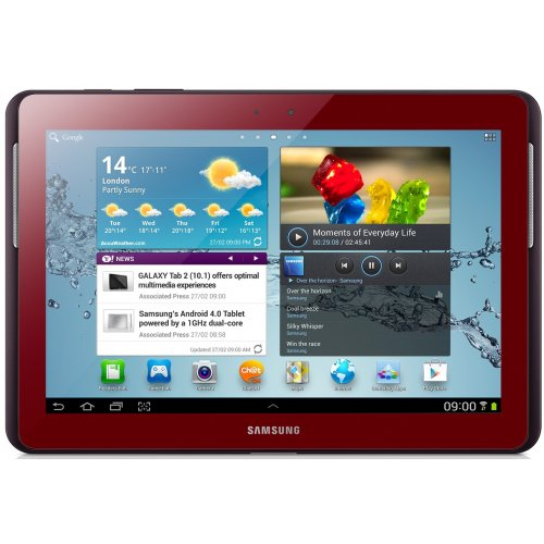 Планшет Samsung P5110 Galaxy Tab 2 10.1 16GB Garnet Red