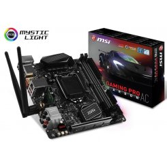 MSI Z270I GAMING PRO CARBON AC (1151, Intel Z270)