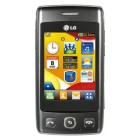 LG T300 Cookie Lite Black Titan Silver