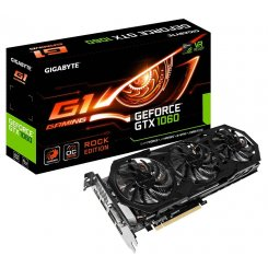 Gigabyte GeForce GTX 1060 G1 Gaming ROCK 6144MB (GV-N1060G1 ROCK-6GD)