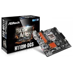 AsRock H110M-DGS (s1151, Intel H110) + BIOS 7th Gen Ready