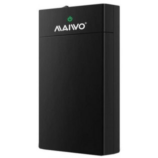 maiwo Maiwo Case 2.5/3.5 USB 3.0 (K3568) Black