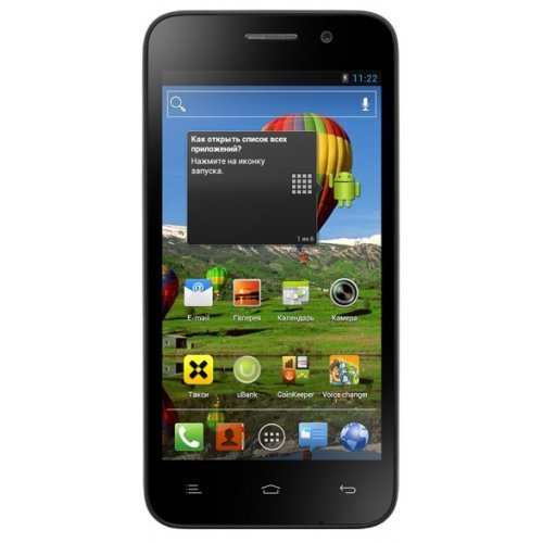 Смартфон Fly IQ446 Magic Black