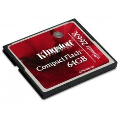 Kingston Compact Flash Ultimate 64GB 266x (CF/64GB-U2)