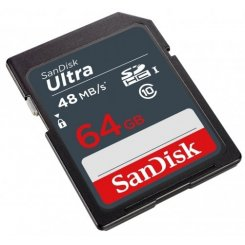 SanDisk SDXC Ultra 64GB Class 10 UHS-I (SDSDUNB-064G-GN3IN)