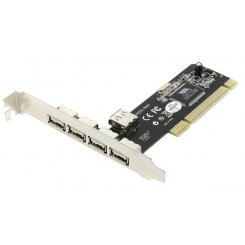 STlab PCI to USB 2.0 TypeA 4 ports (U-166)
