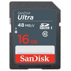 SanDisk SDHC Ultra 16GB Class 10 UHS-I R48MB/s (SDSDUNB-016G-GN3IN)