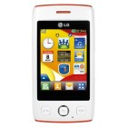 LG T300 Cookie Lite White Orange