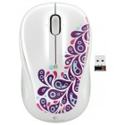 Logitech Wireless Mouse M325 Paisley White